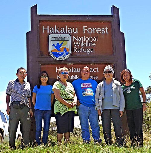 Protectors of the Aina – Hakalau Forest. Photo by Dean Masutomi