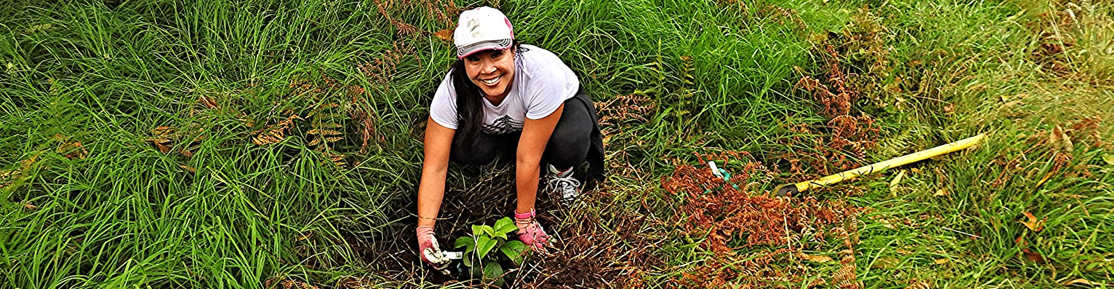 Personal Planting with Friends of Hakalau Forest. Photo by Dean Masutomi | Volunteer Wildlife Refuge Hawaii