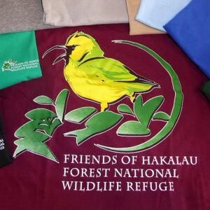 Friends of Hakalau Forest Long Sleeve Shirt